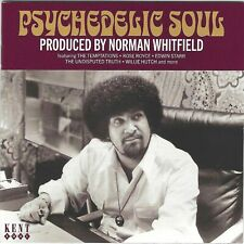 PSYCHEDELIC SOUL - Produced By Norman Whitfield (CD/1968-1981) Ace Label