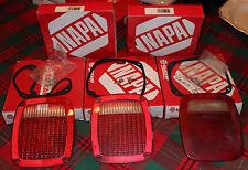 Mixed Lot NAPA BALKAMP Red Tail Lamp Lens Nos. 680-1163 & 680-1164
