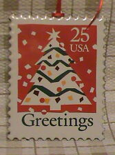 1995 Hallmark U.S. Christmas Stamps Ornament  3rd & Final in the Series