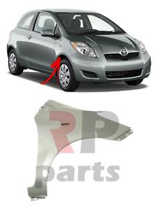 Für Toyota Yaris 09-11 Neu Vorne FENDER Flügel Für Malerei mit Loch Rechts O/S