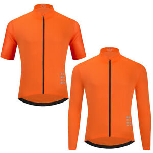 Mens Short Sleeve Cycling Jersey Road Bike Long Sleeve Top Mountain Bike Sports