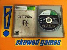 Elder Scrolls IV Oblivion Game of the Year - XBox 360 Microsoft COMPLETE