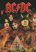 AC/DC Fahne Flagge Highway To Hell Posterfahne Posterflagge Textilposter Flag