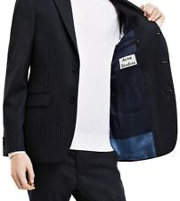 Acne Studios Drifter J Stri Men Dark Navy Jacket Blazer Size 46 - US 36 NWT $750