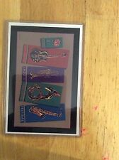 1986 New Orleans Jazz Fest Poster Postcard 12th Lyndon Barrois