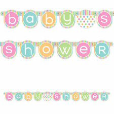Baby Shower Banner - Over 4 Feet Long!  For Baby Shower Decorations  (#T017)