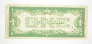 1928 $1.00 Funny Back - Silver Certificate - Monopoly Money - Collectible *690