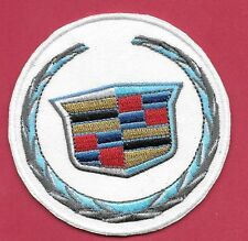 "New Cadillac 'Emblem' 3""  Inch  Iron on Patch Free Shipping"