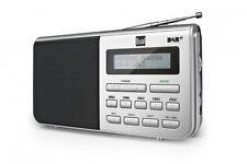 Dual DAB 4.1 DAB+ Schwarz / Silber Tragbar Batterie & Netz Betrieb Digitalradio