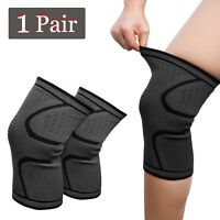 1 Pair Knee Brace Support Sleeves For Arthritis Pain/Sports/Running/Basketball