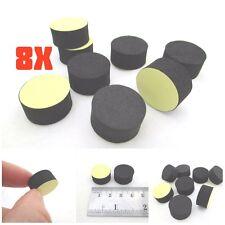 8pcs Round Isolation Anti Vibration Feet Pads Audio Hifi Turntable AMP 20*10mm