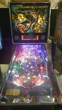 Stern Black Spiderman Limited Edition Le pinball machine Huo Steve Richie signed