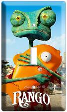 Rango Z Chameleon Movie Cartoon Single Light Switch Wall Plate Cover Johnny Depp