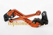 For KTM 1290 Super Duke R/GT 2014-2020 Short CNC Brake Clutch Levers  Orange