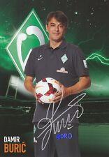 Damir BURIC + Werder Bremen + Saison 2013/2014 + Original Autogrammkarte