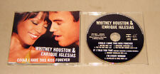 CD Single Whitney Houston & Enrique Iglesias - Could I have this kiss forever 20