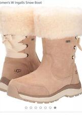UGG Australia Women's Adirondack Boot Waterproof Chestnut Sz 8  Dry Tech