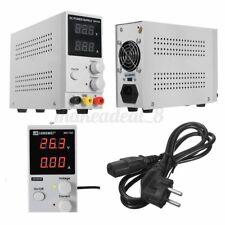 30V 10A Adjustable Digital DC Power Supply Adjustable Precision Lab Test Tool US