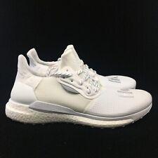 Adidas Pharrell Williams SolarHU PRD White EF2378 Running Shoes Men's NEW
