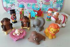 Elc HappyLand Circo Paquete Happyland Circo/animales del zoológico figuras payasos coche