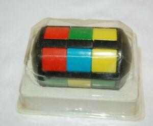 Vintage Slider Barrel Puzzle With Instructions.