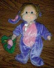 Beanie Kids Stuffed Animal Plush Beanbag Girl Dressup Doll Precious/Bunny Outfit