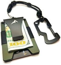 EDC Men's Tactical Wallet Minimalist Money Clip Front Pocket Slim RFID Wallet
