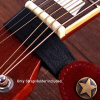 sangle de guitare classique accessoires pour guitares basses titulaire bouton