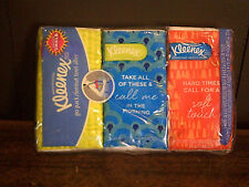 Kleenex Go Pack Facial Tissues, 10 Count, (Pack of 3) New