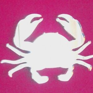 Crab Mirrors Acrylic Mirror (Several Sizes Available)