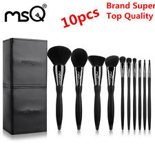 10Pcs Super Top Quality Makeup Brushes Set Professional Cosmetic Beauty Tool MSQ