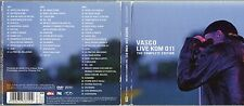 VASCO ROSSI 2 CD + 1 DVD 2011 L IVE KOM 011 digipack