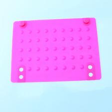 Flat Iron Heat Resistant Silicone Mat DIY Tool For Straightener Curling DIY