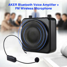 MR2500W AKER Portable Wireless Bluetooth Voice Amplifier Booster with Microphone