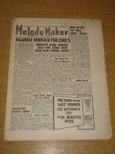 MELODY MAKER 1947 MARCH 15 MAURICE WINNICK LEW STONE STARDUSTERS +