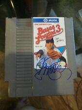 RYNE SANDBERG Autographed Signed Bases Loaded 3 Nintendo Game  Cubs MLB hof