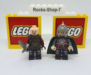 Lego Lord Of The Rings King Theoden & Eomer Minifigure Set 9474 9471 Uruk A24B