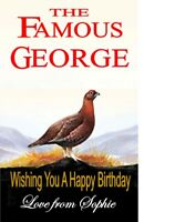 Personalised Famous Grouse Whiskey Bottle Label, Wedding,Birthday any occasion