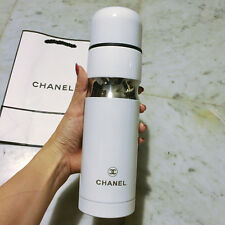 NEW Chanel VIP White Thermo Protein Coffee Drink Travel Portable Cup w/ Box