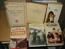 FASCISMO e GUERRA - Libri sul fascismo e sulla guerra a 10 € cadauno.