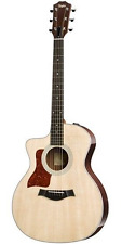 Taylor 214ce LH Grand Auditorium Left-Handed  Natural Acoustic-electric Guitar,