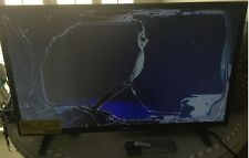 "LG 32LH500B 32"" LED TV 32LH50 Remote & Stands Included Cracked Screen For Parts!"