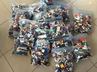 10 KG (x8500pcs) LEGO CREATIVITY PACKS, BULK LOT, BEST VALUE, HAND SORTED