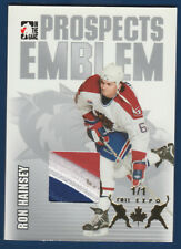 RON HAINSEY 2004-05 ITG HEROES AND PROSPECTS EMBLEM SILVER FALL EXPO 1/1  22448
