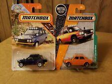 Matchbox '70 Datsun 510 Rally Cars ( Lot of 2 )