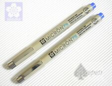 Free ship 2 pcs SAKURA MICRON PN calligraphy pens for Arts BLUE ink