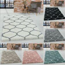 Design Shaggy Rug Living Room Carpet Pattern Tile Jacquard
