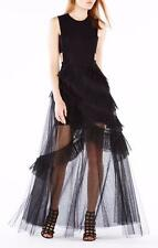 New Authentic BCBG MAX AZRIA $498 Avalon Open Back Gown Wedding Formal Prom