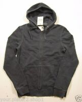 Barbour Men's Navy Blue Garment Dyed Full Zip Logo Hoodie