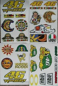 The Doctor - VALENTINO ROSSI -  27 large waterproof stickers